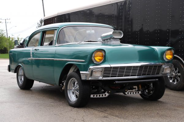 1956 Chevy Gasser with a Supercharged LS7 V8