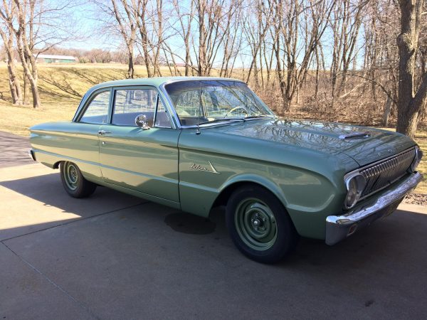 1962 Ford Falcon with a turbo Duratec inline-four
