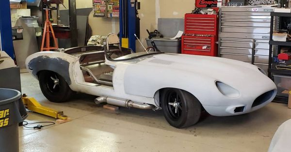 1968 Jaguar E-type with a Twin-Turbo Viper V10