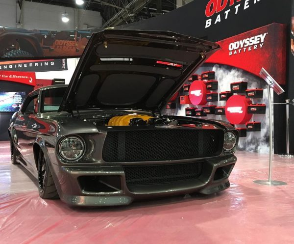 1968 Mustang with a Twin-Turbo Ferrari V8