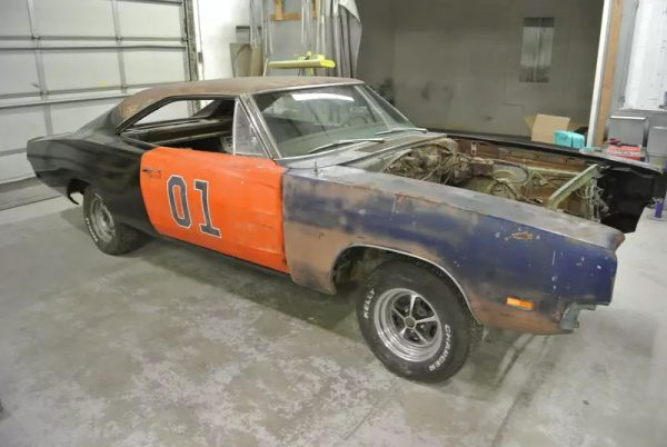 1969 Charger with a 426 ci Hemi V8