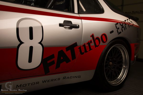 1983 Porsche 944 with an Audi turbo 1.8T inline-four