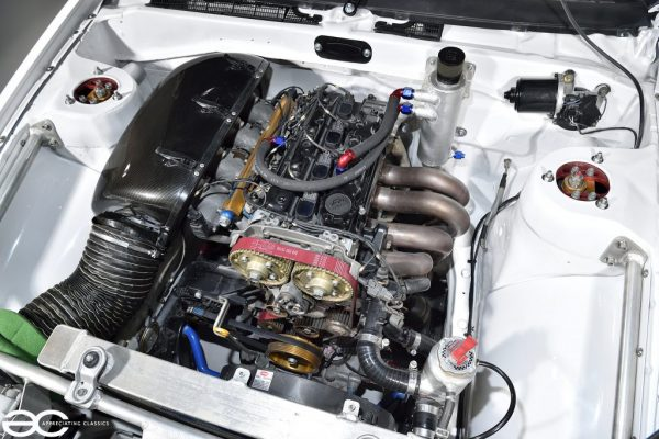 1987 Toyota Corolla Levin AE86 with a 3G-SE inline-four