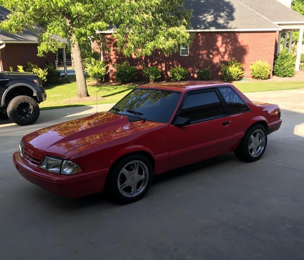 1990 Mustang with a Coyote V8