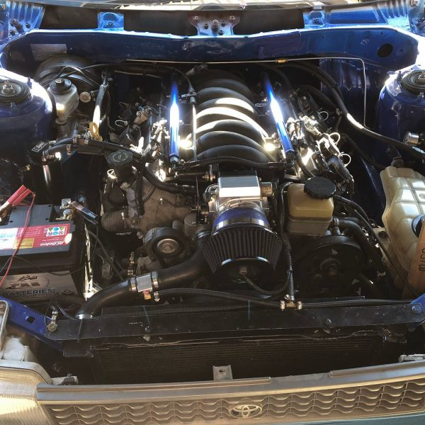 1994 Corolla with a LS1 V8 and RWD drivetrain