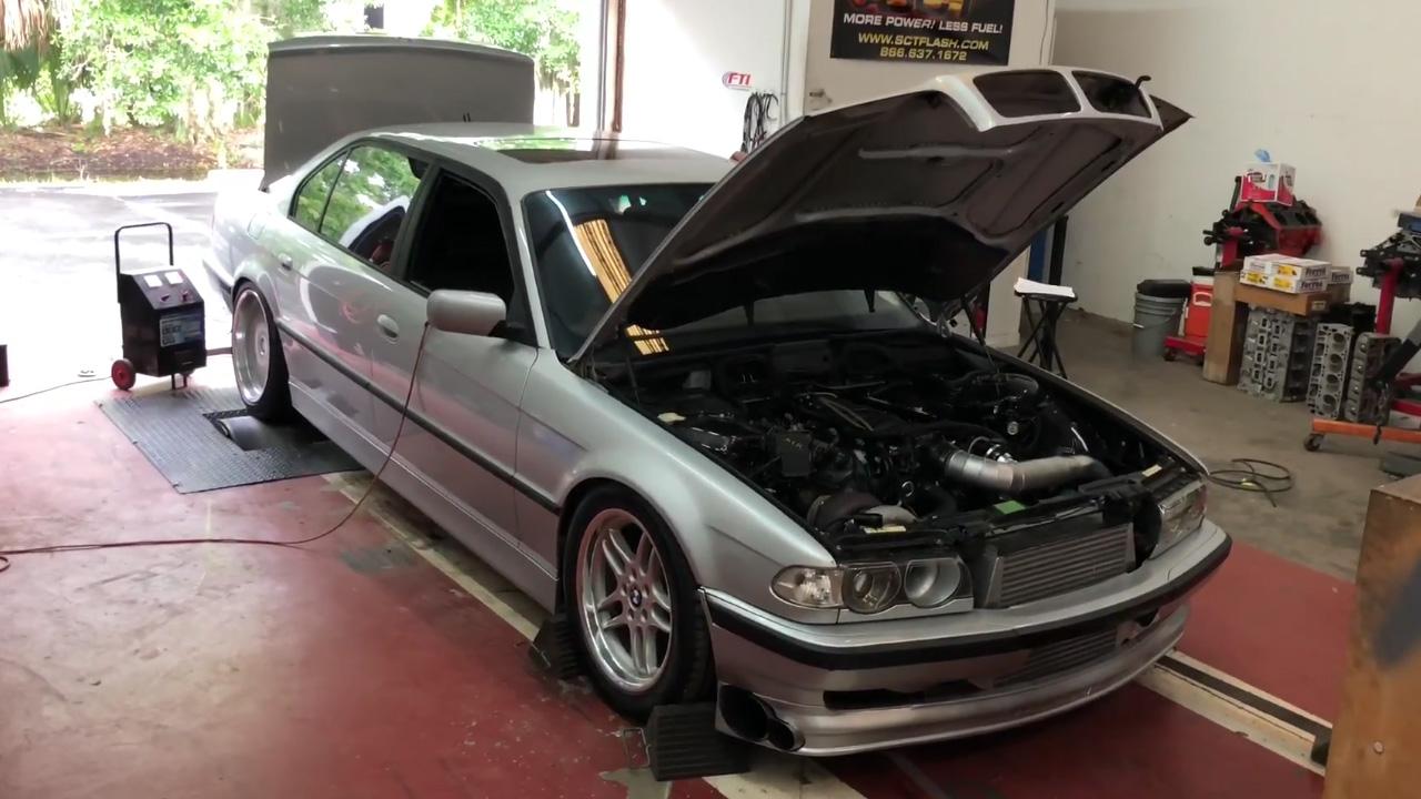 BMW 740IL with a Turbo LSx V8 – Engine Swap Depot