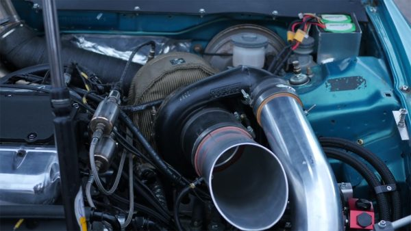Honda Civic EG with a turbo 3.5 L J35 V6 04