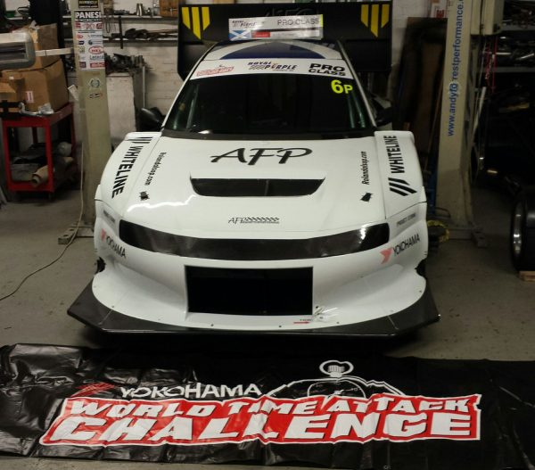 AFP Subaru Impreza WRX with a turbo 3.6 L EG33 flat-six
