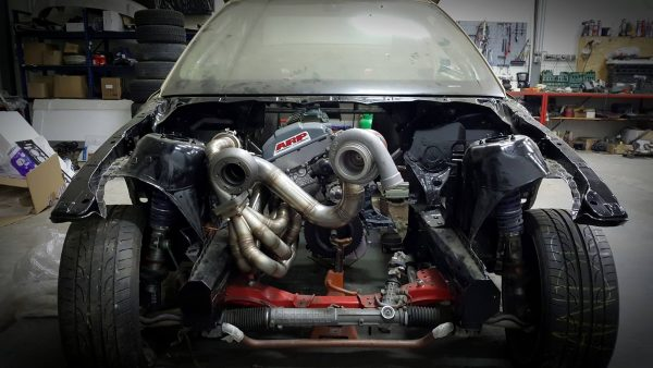 Building a BMW E46 Dragster with a Twin-Turbo M50 Inline-Six