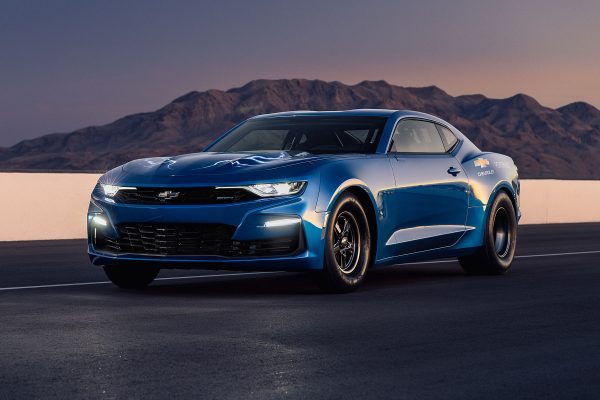 Electric 2019 eCOPO Camaro with BorgWarner HVH 250-150 motors
