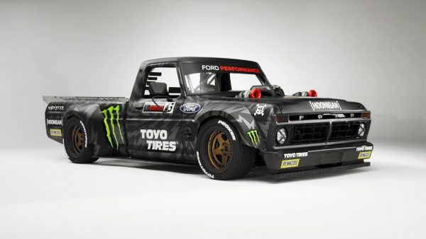 Hoonitruck 1977 Ford F150 with a twin-turbo EcoBoost V6