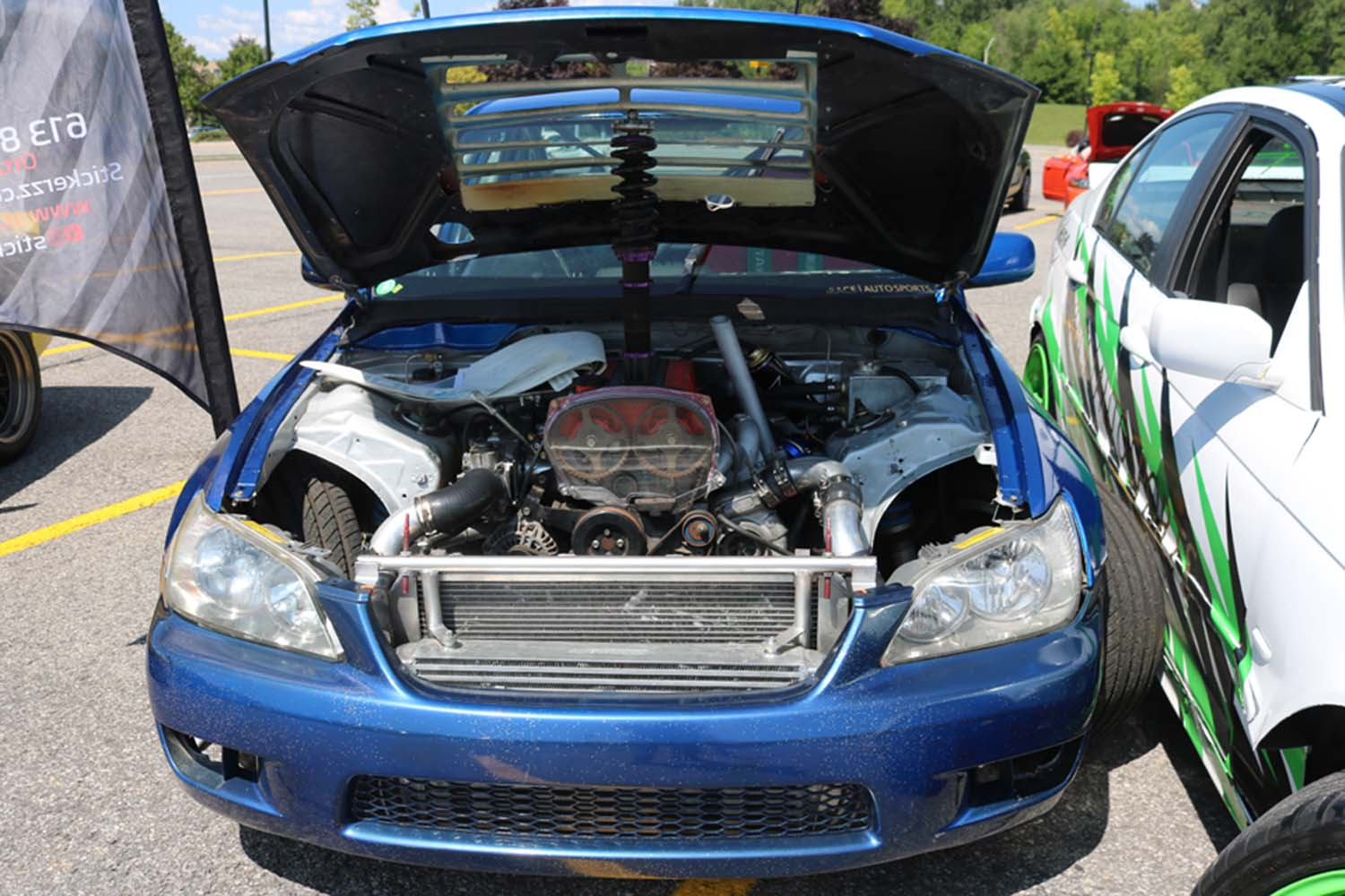 Lexus IS300 with a Turbo 4G63 – Engine Swap Depot