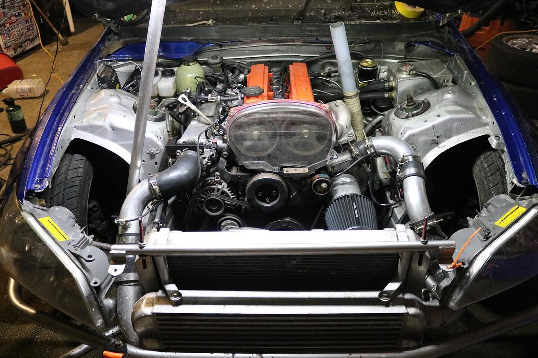 Lexus IS300 with a Turbo 4G63 - engineswapdepot com