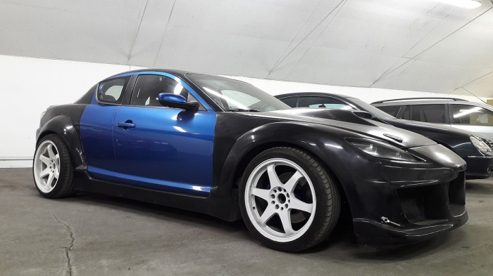 This 2004 Mazda RX 8 Is For Sale In Wiązowna, Poland For 59,000 Zł Or About  $15,812. The Car Was Built To Drift By KMS Engine (FB Build Album) In 2014.