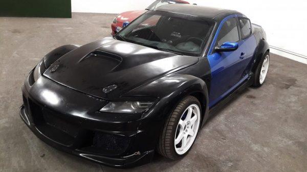 Mazda RX-8 with a 3UZ V8