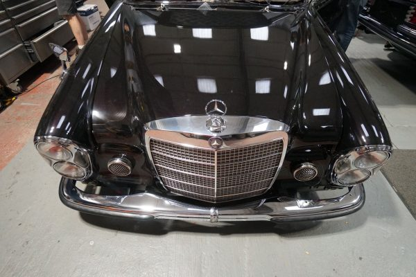 Mercedes W108 with a LS3 V8