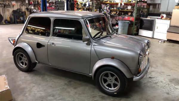 RWD Mini with a Supercharged J35 V6