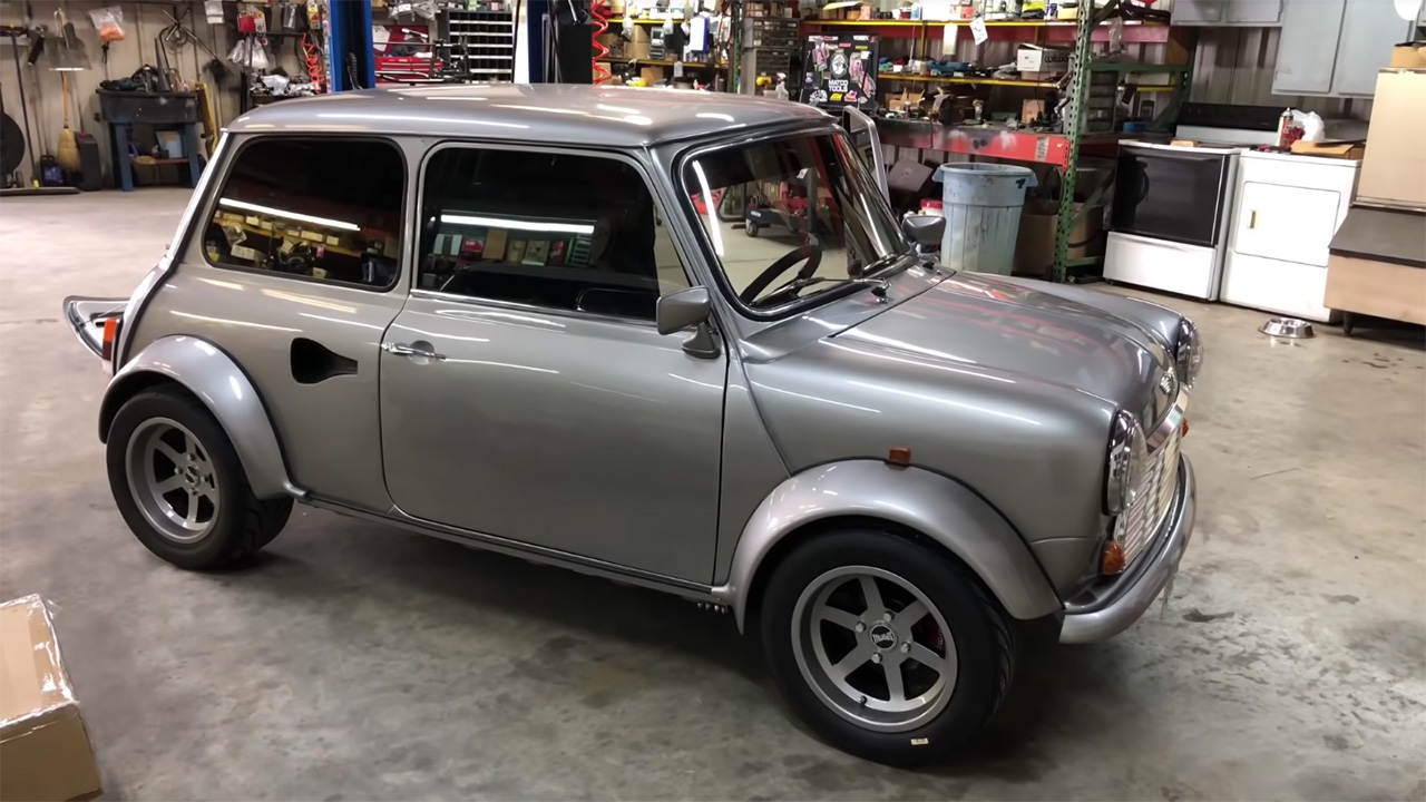 Mini with a Supercharged J35 V6 – Engine Swap Depot