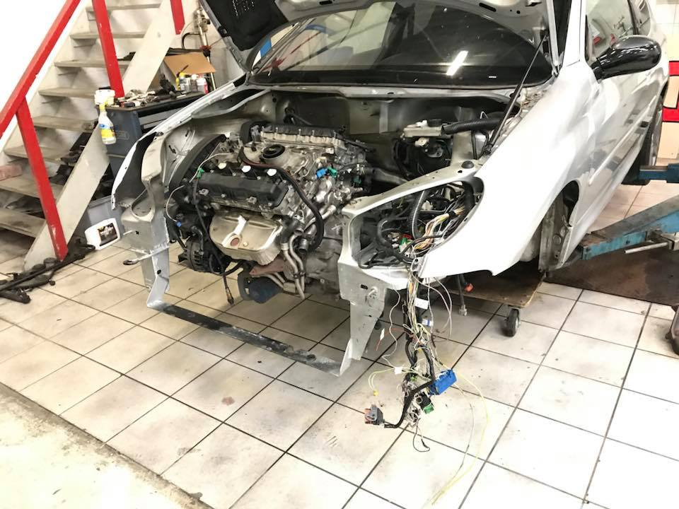 Building a 4WD Peugeot 206 with a Turbo V6 – Engine Swap Depot