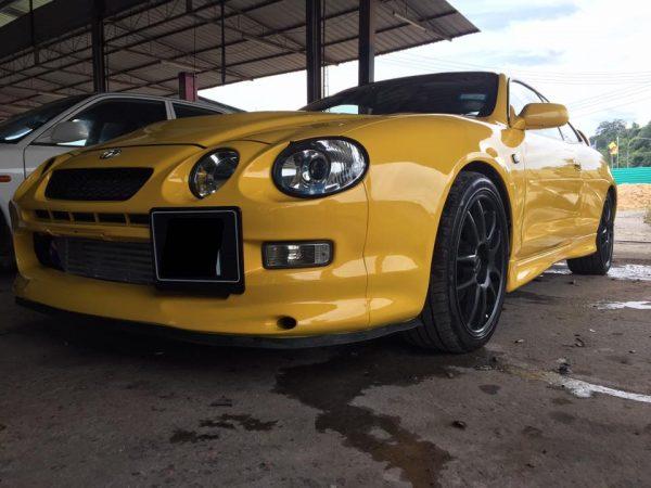 RWD Celica GT4 with a turbo 2JZ inline-six