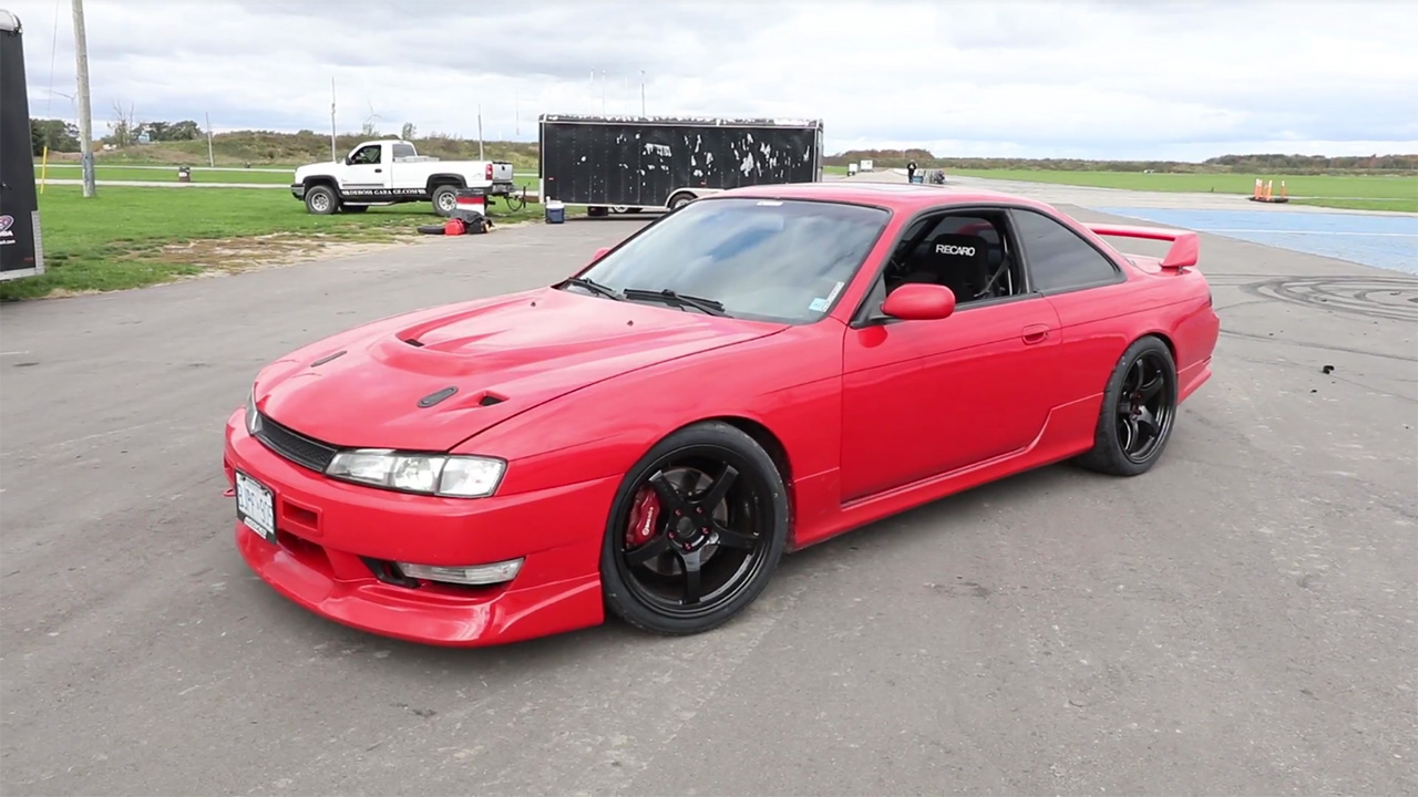 Speed Academy Nissan 240SX with a K24