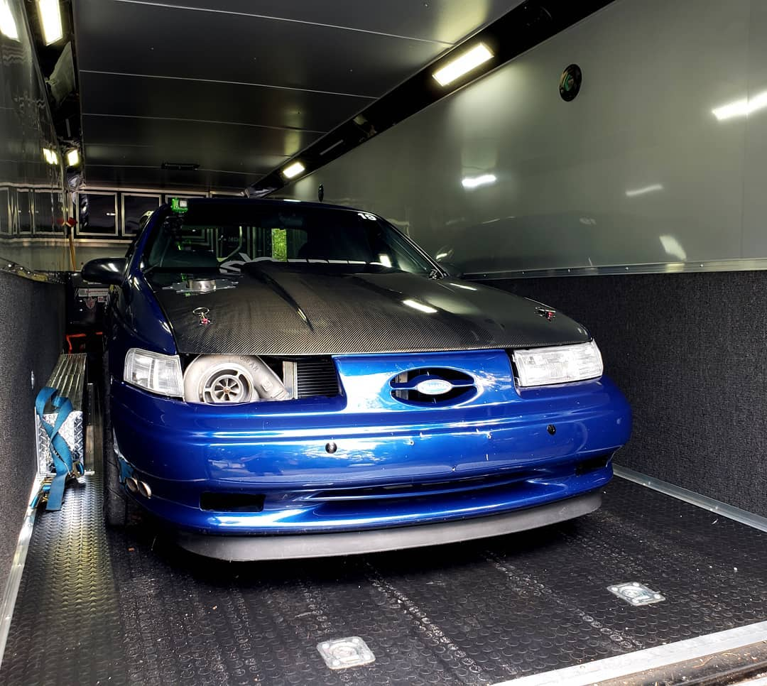The Blue Turd 1995 Taurus with a turbo 3.3 L V6