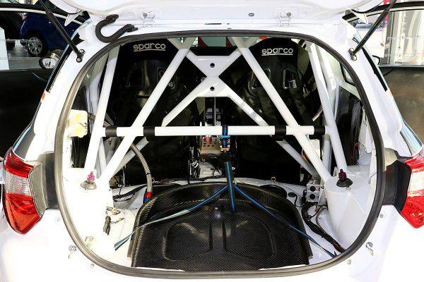 Toyota Yaris Proto with a Mitsubishi Evo X Powertrain
