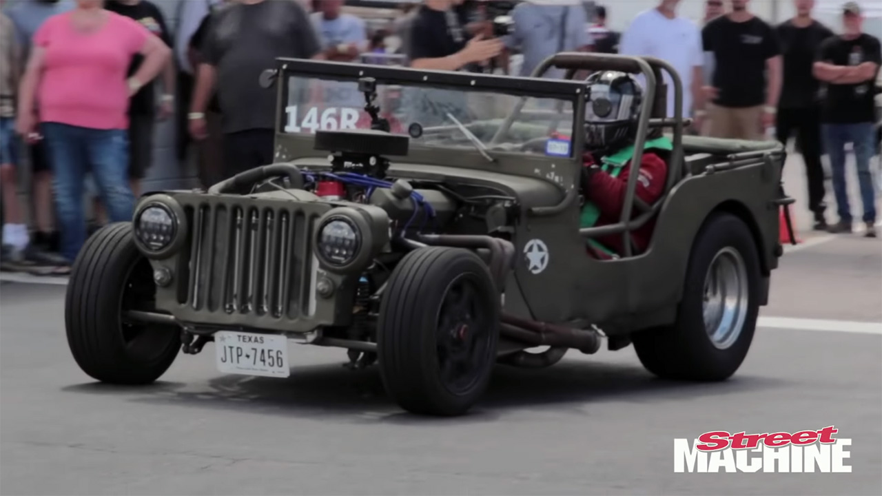 1943 Willys MB with a 427 Windsor V8