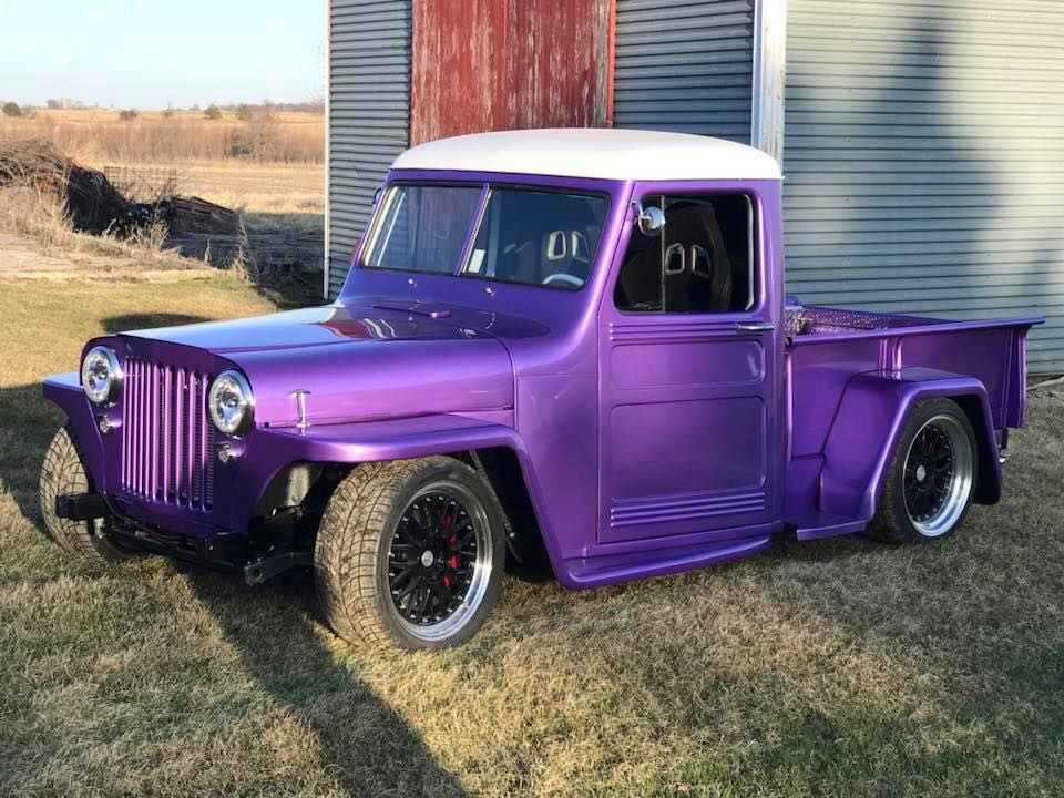 1948 Willys Truck with a 4.9 L LSx V8