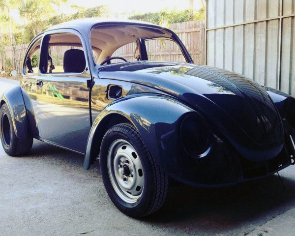 1969 Beetle with a Subaru turbo EJ207 flat-four