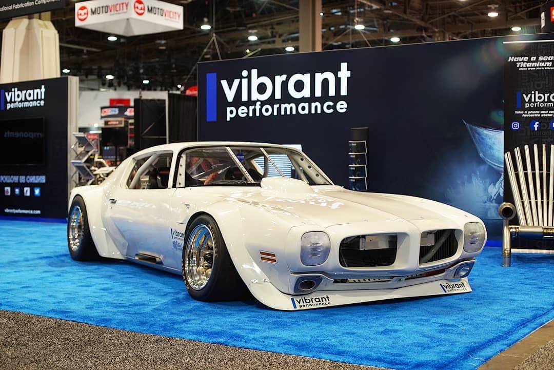 1970 Pontiac Firebird Trans Am with a 10,000 rpm LSx V8