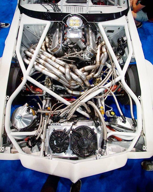 1970 Pontiac Firebird Trans Am with a 400 ci LSx V8