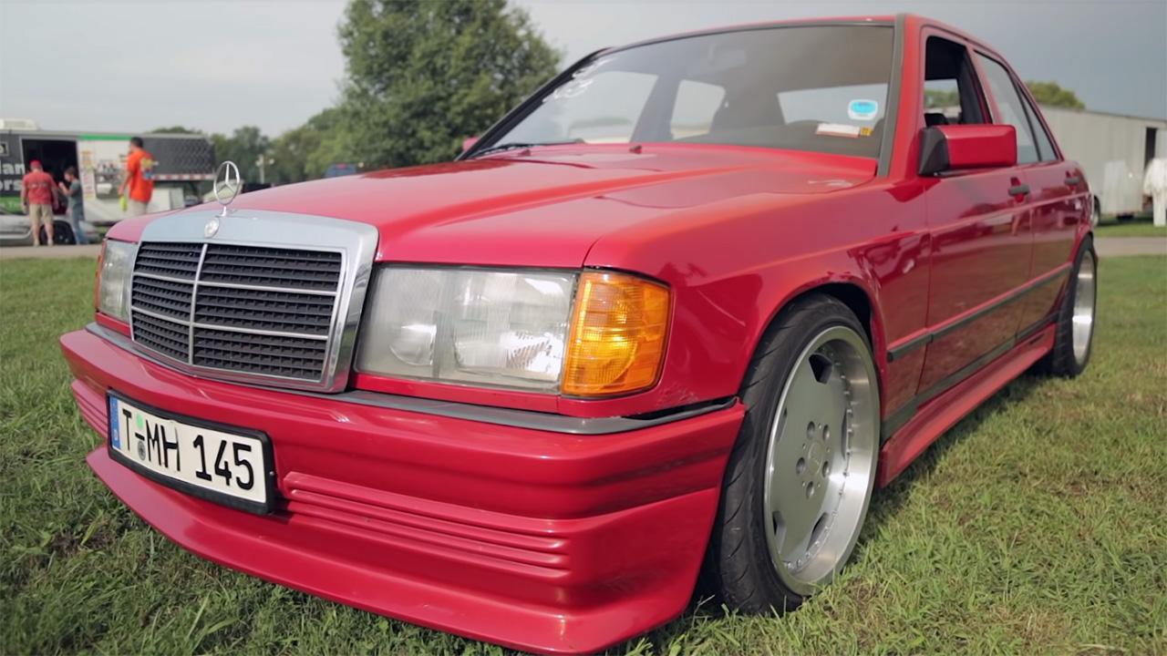 1984 Mercedes 190E with a turbo LSx V8