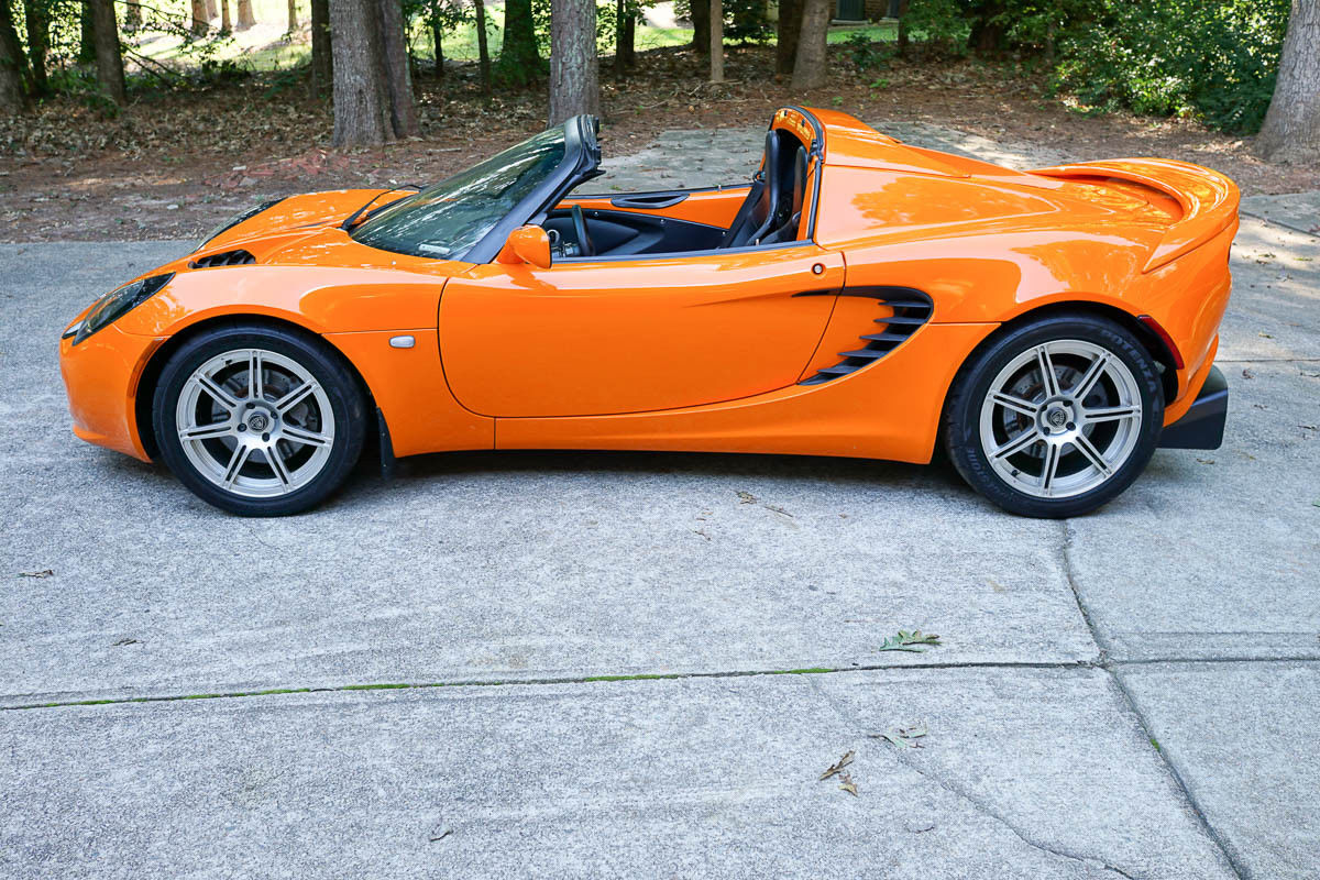 For Sale: 2005 Lotus Elise with a Turbo K20 Inline-Four