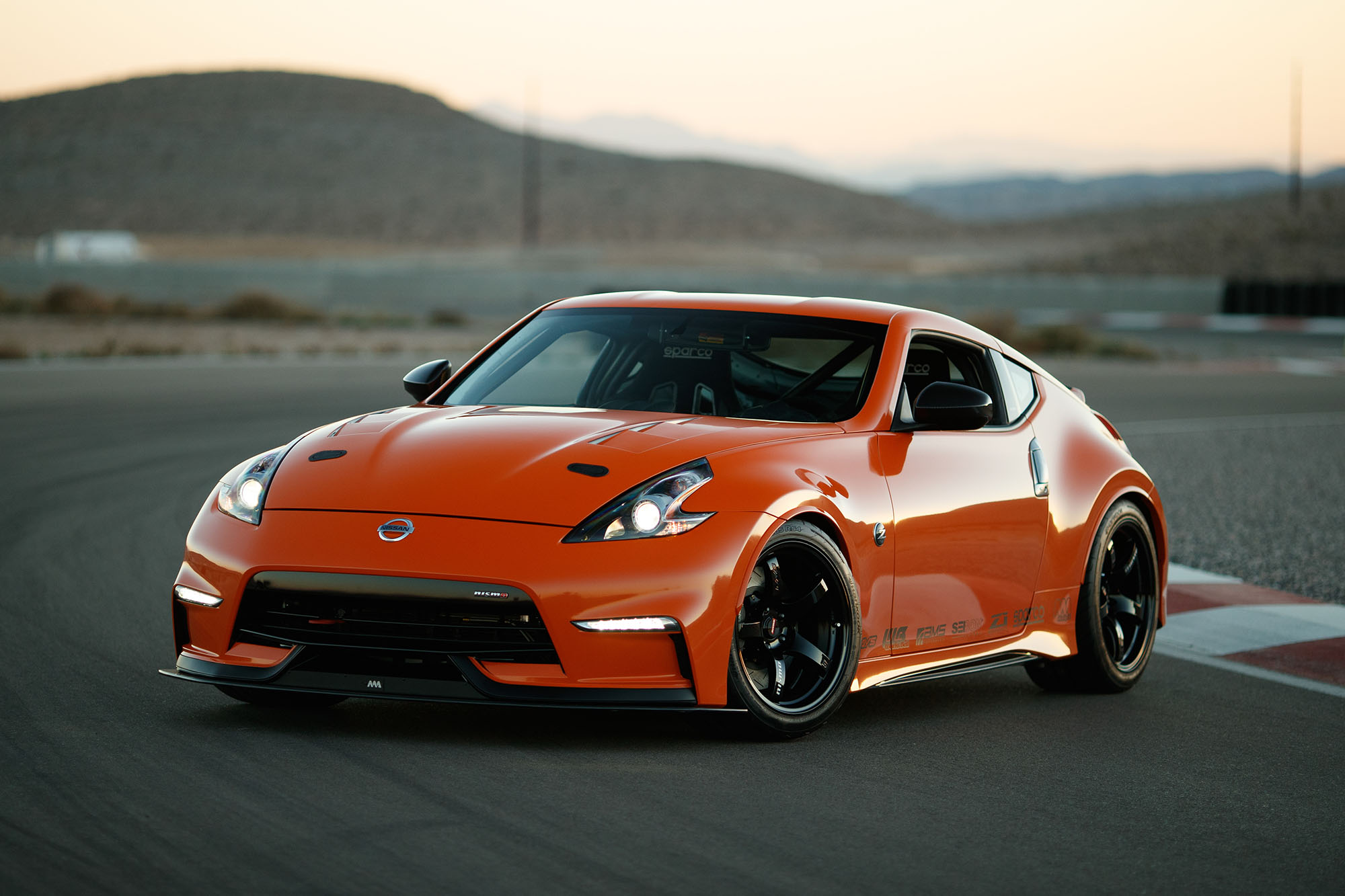 Nissan 370Z NISMO with a Twin-Turbo VR30DDTT V6 – Engine