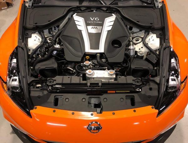 2012 Nissan 370Z Nismo with a twin-turbo VR30DDTT V6