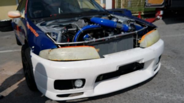 Nissan R33 with a Jaguar Supercharged 4.2 L V8