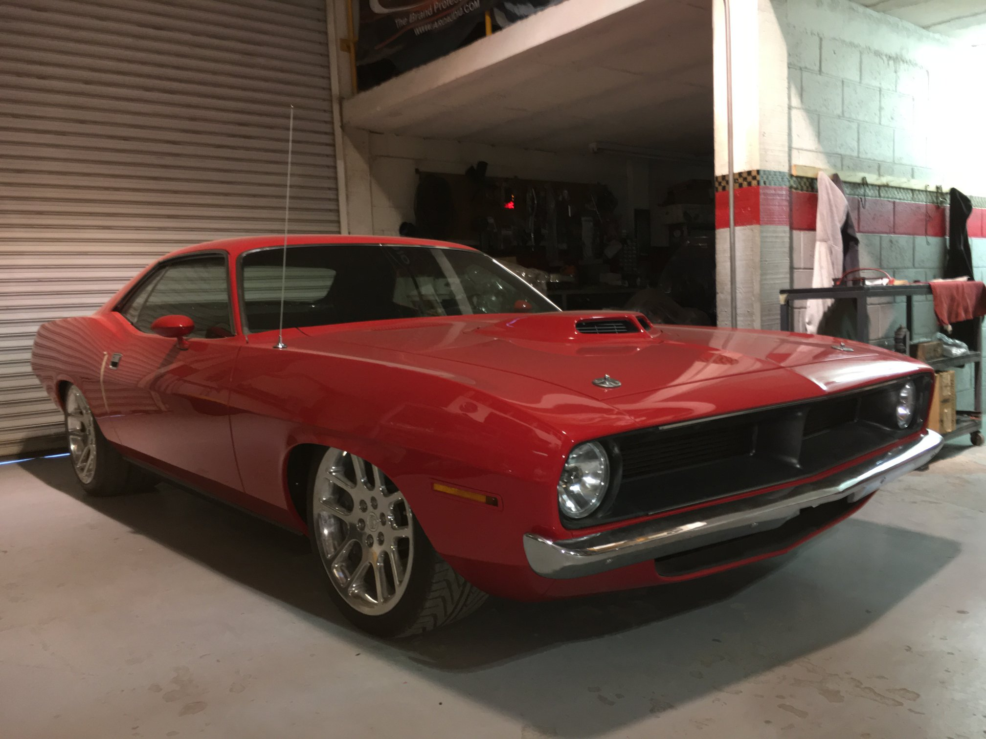 1970 Plymouth Barracuda With A Viper Chassis And Powertrain