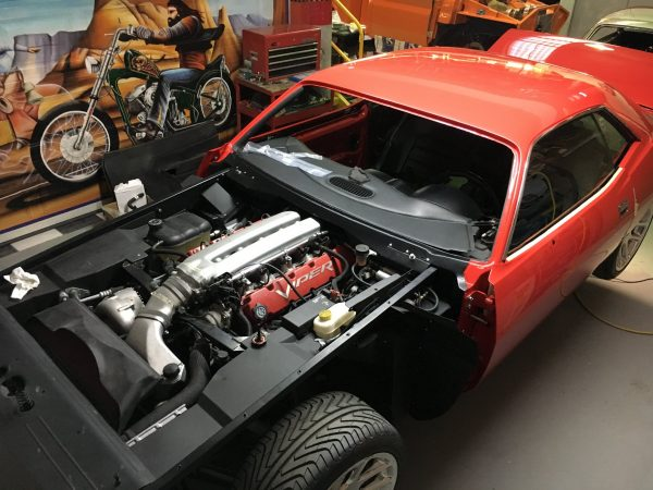 Plymouth Barracuda with a Viper Chassis and Powertrain