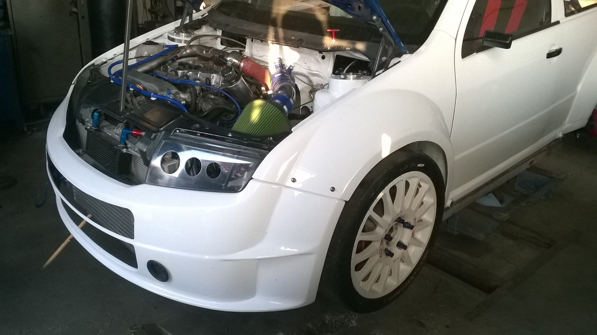 Skoda Fabia With An Audi 1 8t And Quattro 4wd Drivetrain Engine Swap Depot