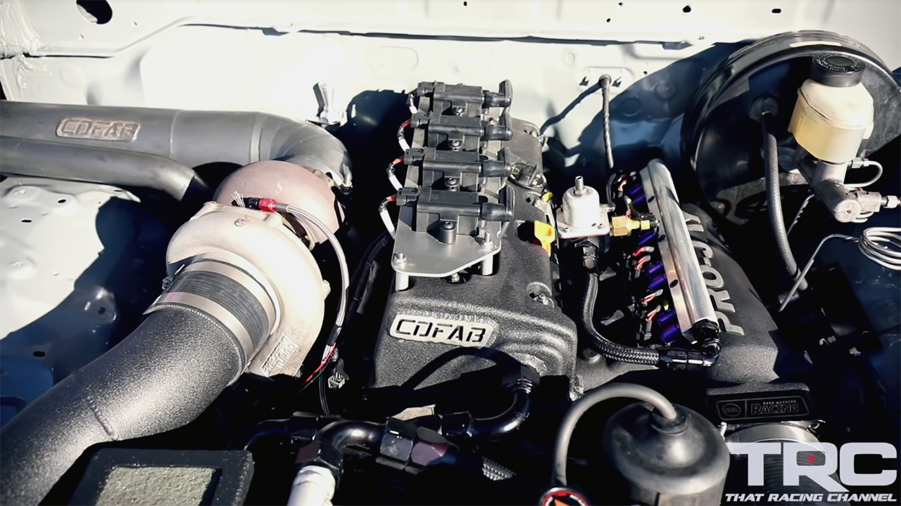 Toyota Tacoma with a Turbo K24 Inline-Four Goes 8 121 – Engine Swap