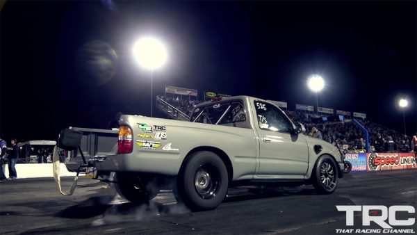 Toyota Tacoma with a turbo K24 inline-four