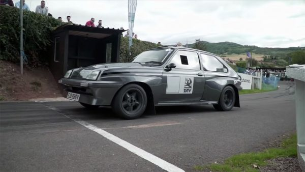 Vauxhall Chevette with a C20XE Inline-Four