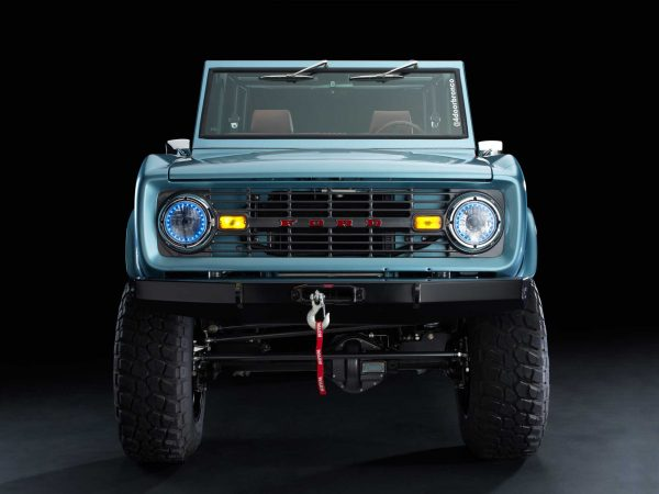 1966 Ford Bronco with a Supercharged Coyote V8