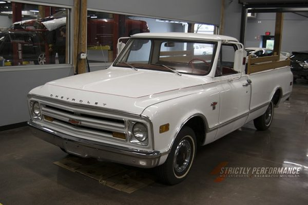 1968 Chevy C10 with a supercharged LT4 V8