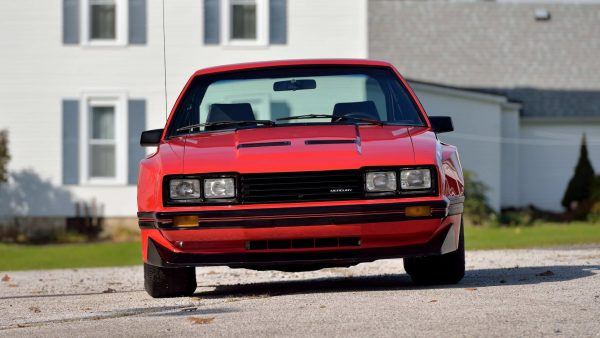 1980 Mercury Cosworth Capri with a 1.6 L BDA inline-four