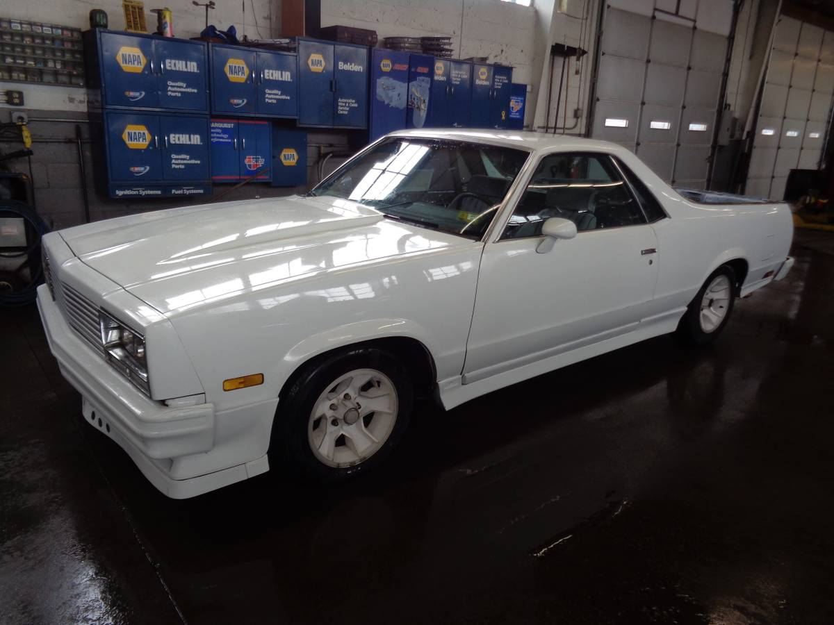 1985 GMC Caballero with a Grand National Turbo V6