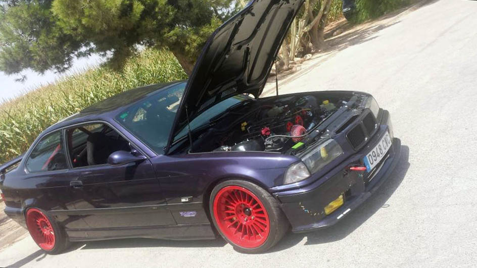 BMW E36 with a Cosworth Turbo Inline-Four – Engine Swap Depot