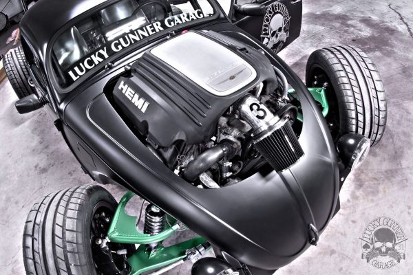 Custom VW Bug with a 5.7 L HEMI V8