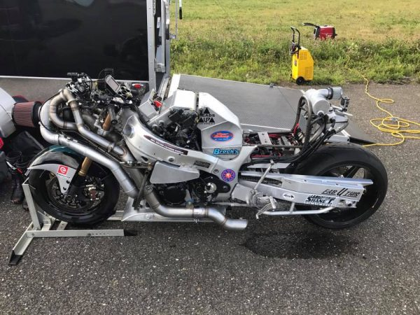 Hass-Serafini Racing Compound Twin-Turbo Hayabusa